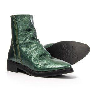 Free People Amarone Metallic green Boots size 41